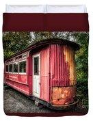 The Gospel Car Duvet Cover by Adrian Evans