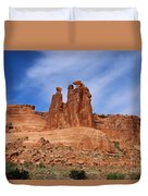 The Gossips A Nature's Beauty Duvet Cover