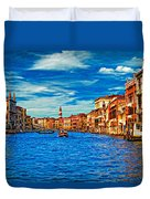 The Grand Canal Impasto Duvet Cover