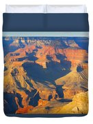 The Grand Canyon From Outer Space Duvet Cover