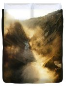 The Grand Canyon Of Yellowstone Duvet Cover
