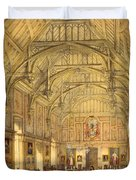 The Grand Hall, Biddington, Surrey Duvet Cover