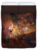 The Great Nebula In Carina Duvet Cover