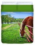 The Grass Is Always Greener... Duvet Cover