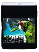 The Great Bird Of Casablanca Duvet Cover