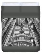 The Great Glass Elevators Duvet Cover