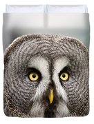 The Great Grey Owl  Duvet Cover