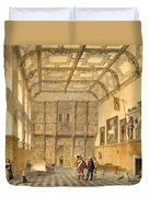 The Great Hall, Hatfield, Berkshire Duvet Cover