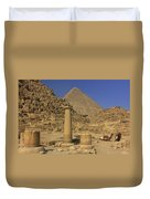The Great Pyramids Giza Egypt  Duvet Cover by Ivan Pendjakov
