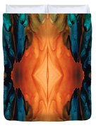 The Great Spirit - Abstract Art By Sharon Cummings Duvet Cover
