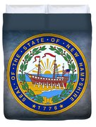 The Great Seal Of The State Of New Hampshire Duvet Cover