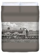 The Greater Britain Passenger Duvet Cover