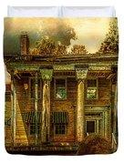 The Greek Revival That Needs Revival Duvet Cover