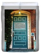 The Green Door Duvet Cover
