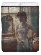 The Green Dress, 1908-09 Duvet Cover