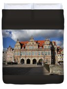 The Green Gate - Gdansk Duvet Cover
