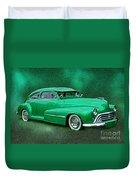 The Green Ghost Duvet Cover