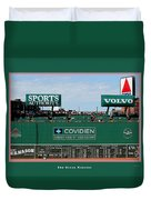 The Green Monster Fenway Park Duvet Cover