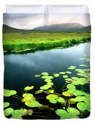 The Green Of Our Land Duvet Cover