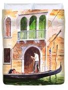 The Green Shutters - Venice Duvet Cover