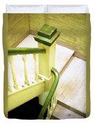 The Green Stairwell Duvet Cover