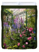 The Greenhouse Duvet Cover by Jessica Jenney