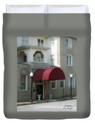 The Greystone Hotel Duvet Cover