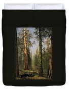The Grizzly Giant Sequoia Mariposa Grove California Duvet Cover
