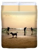 The Guardian Dog Duvet Cover