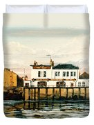 The Gun Public House Isle Of Dogs London Duvet Cover