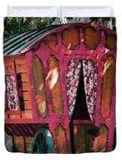 The Gypsy Caravan  Duvet Cover