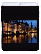 The Hague By Night Duvet Cover