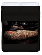 The Hall Of Ancient Egypt Mummy Room Duvet Cover