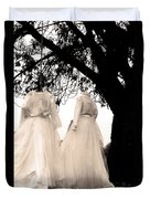 The Hanging Brides  Duvet Cover