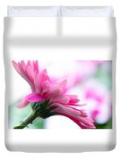 The Happy Flower Pink Daisy Duvet Cover