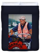 The Harbor Master Duvet Cover