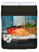 The Harvest Helper Duvet Cover