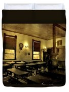The Haunted Classroom Duvet Cover by Dan Sproul