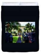 The Hawaiian Palace Duvet Cover