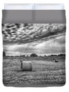 The Hay Bails Duvet Cover