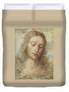 The Head Of Christ Duvet Cover