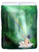 The Healing Place Duvet Cover