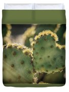 The Heart Of A Cactus  Duvet Cover