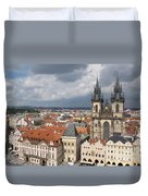 The Heart Of Old Town Duvet Cover