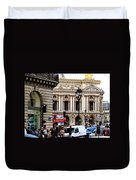 The Heart Of Paris Duvet Cover