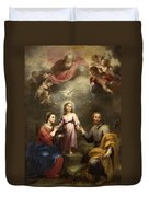 The Heavenly And Earthly Trinities Duvet Cover