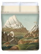 The Heights Of The Old And New World Duvet Cover