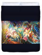 The Herald Of Dawn Duvet Cover
