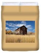 The High Grass Barn Duvet Cover