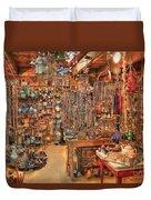 The Highway 441 Roadside Gift Shop Duvet Cover